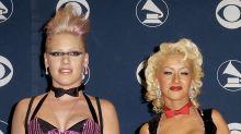 Pink revela que Christina Aguilera la atacó en club