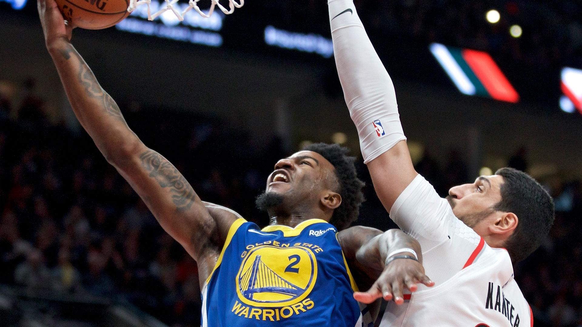 Watch Jordan Bell redeem himself after awful missed dunk in Game 3