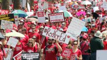 School strikes lead to highest number of work stoppages in 11 years