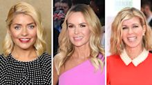 Trend alert: Holly Willoughby, Amanda Holden and Kate Garraway are all championing party-ready pleated skirts