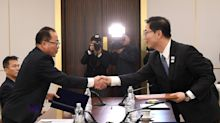 J.O. de Pyeongchang : les deux Corées défileront sous le même drapeau