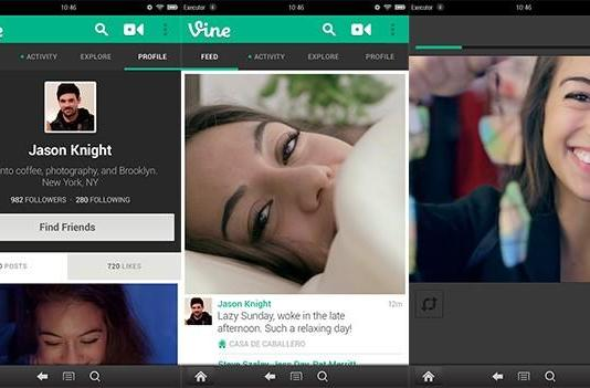 Vine graces Amazon Appstore, gives Kindle Fire HD's front-facing cam a workout
