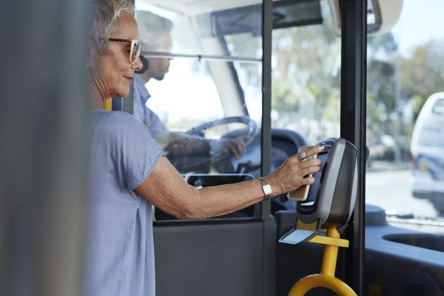 Visa will help bring tap-to-pay to more buses and subways