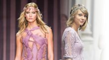 Taylor Swift Wore the Budget Version of Karlie Kloss's Atelier Versace Gown