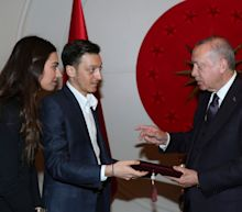 Mesut Ozil sparks new political row over wedding invite for Turkish president