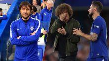 Is this a huge clue David Luiz and Antonio Conte are definitely leaving Chelsea?