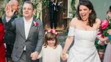 Patton Oswalt Marries Meredith Salenger: See the Sweet Pic!