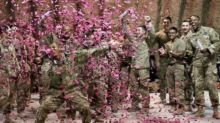 Watch the Sweet Moment These Soldiers Reveal the Gender of Their Fallen Comrade's Baby