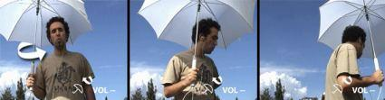 Control your iPod with an umbrella