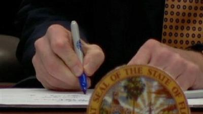 Scott Signs Property Tax Relief Bill At SFWMD