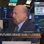 Cramer blames this week's crazy market on a 'group of com...