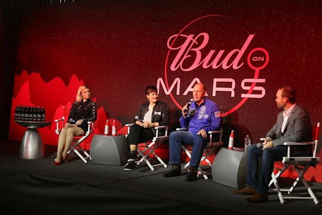 Budweiser is blasting barley into space to brew Mars beer