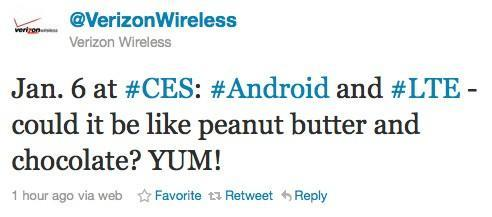 Verizon teases Android LTE hardware for January 6th at CES