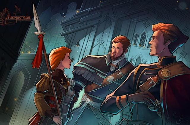 Masquerada's gay characters are defined by humanity, not sexuality