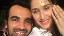 Zaheer Khan announces his engagement to girlfriend Sagarika in the cutest way possible