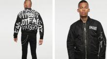 Diesel under fire for jacket with homophobic slur emblazoned across it