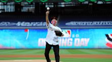 Dr. Anthony Fauci's unfortunate first pitch becomes a Topps baseball card