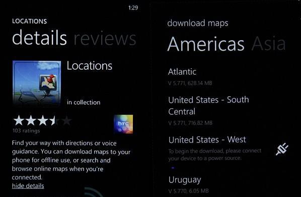 HTC Locations update for Windows Phone brings offline navigation