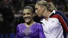 Report: Suspended Olympic coach Maggie Haney still working with gymnasts