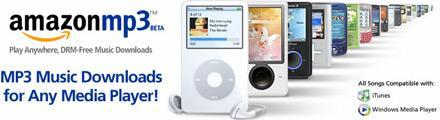 Amazon MP3 store to spread DRM-free love global in 2008