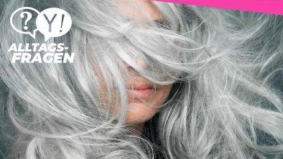 Alltagsfrage: Warum werden Haare grau?