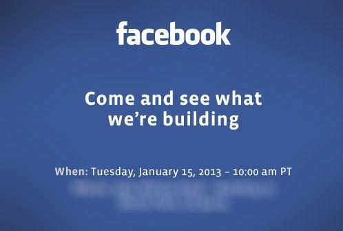 Facebook's building something new, and we're liveblogging the announcement tomorrow!