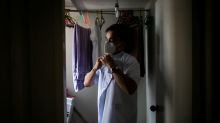 "Pandemic ""hero"" Filipino nurses struggle to leave home"