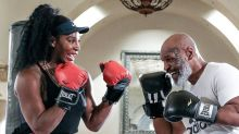 Watch Serena Williams Punch HARD In Boxing Lesson With Mike Tyson