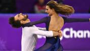 Olympic ice dancer turns 'nightmare' into tears of joy