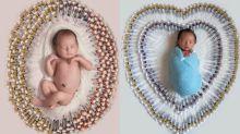 Mulher usa mais de 500 injeções para manter gestações e mostra as agulhas em ensaio com os bebês