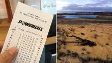 Drought-affected farmer wins $80m Powerball jackpot