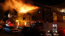 Fire breaks out on rooftop patio in Hochelaga-Maisonneuve