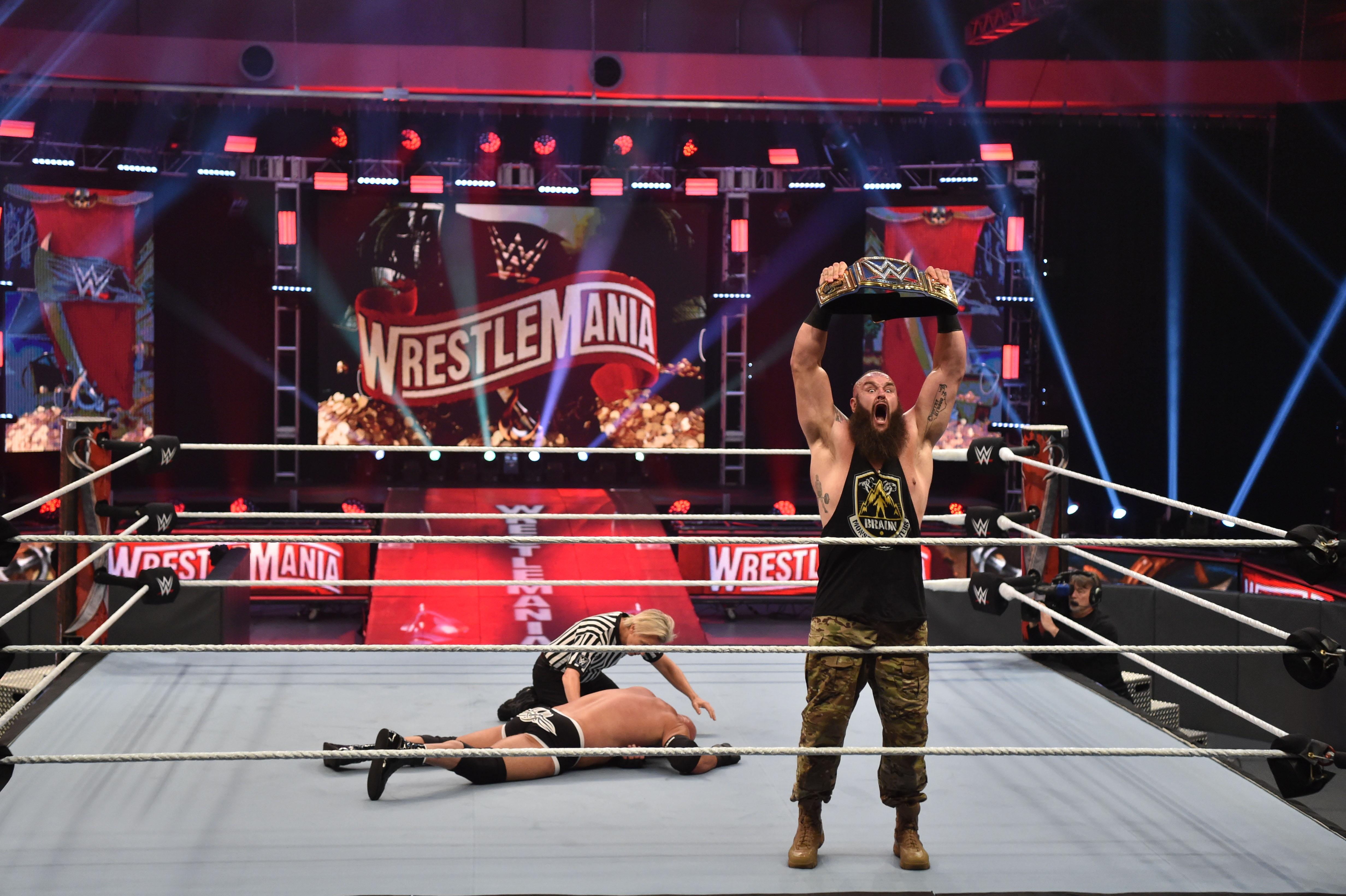 Wrestlemania Hit Or Miss Show Hurt By Lack Of Fans