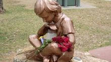 Family heartbroken after thieves steal statue of boy who drowned
