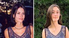 Reciclagem fashion: filha de atriz de 'Friends' usa vestido da mãe 21 anos depois