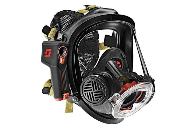 Firefighter mask offers hands-free thermal imaging
