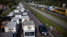 Truck strike threatens fuel for Brazil capital's airport