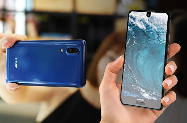 Sharp's edge-to-edge AQUOS S2 is a glimpse at your next phone
