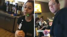 Cafe refuses to serve man after racist rant