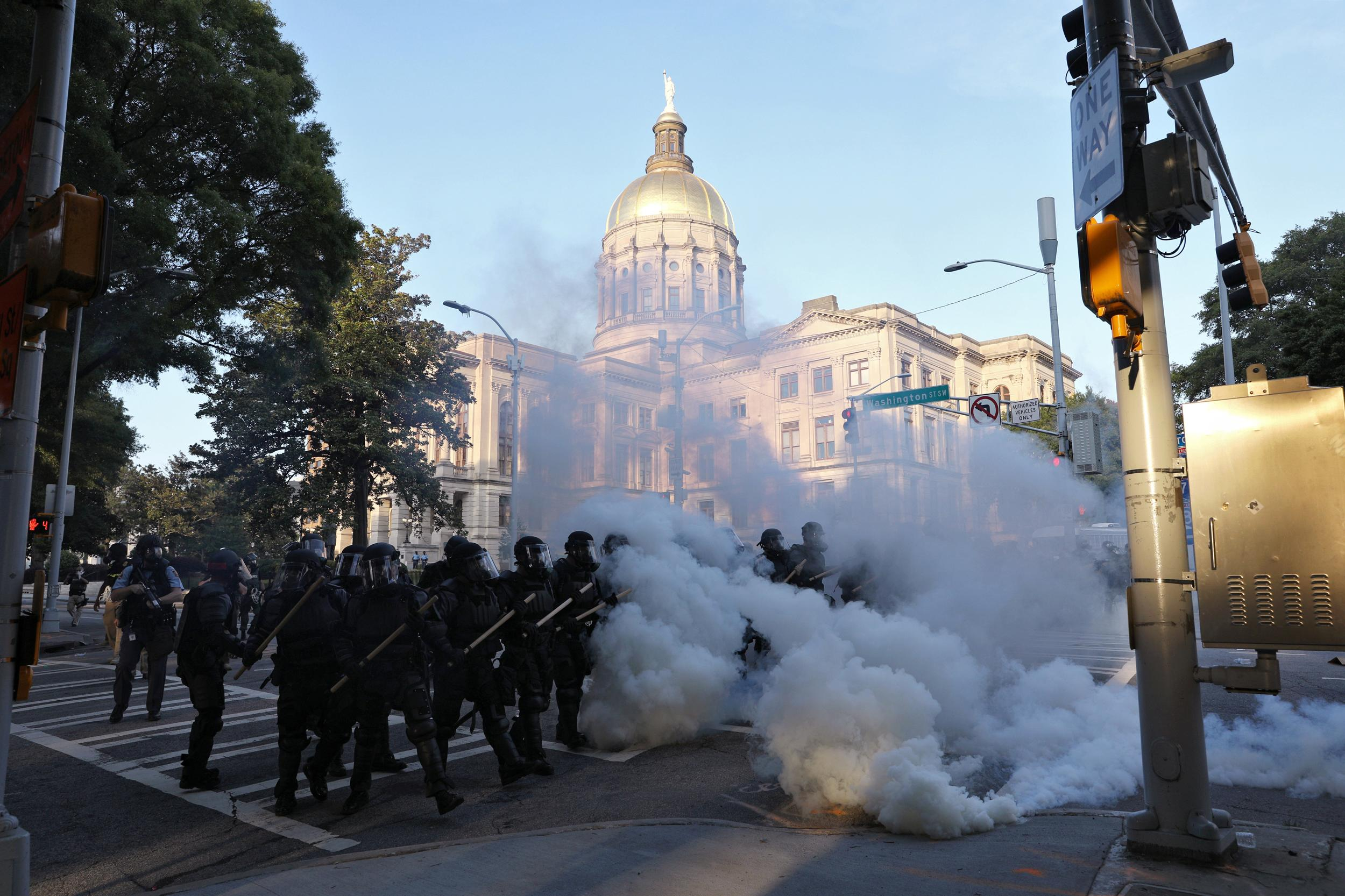 Two companies dominate the tear gas industry. Their profits come at the expense of their workers.