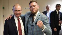 Conor McGregor causes controversy with Vladimir Putin tweet