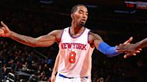 Knicks clear baggage in trading J.R. Smith