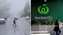 Woolworths reveals most popular cold snap items