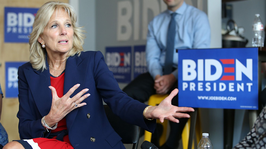Jill Biden gets candid with Democratic voters