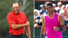 How Tiger Woods can inspire Rafael Nadal to French Open glory