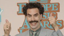 Sacha Baron Cohen spotted filming as Borat