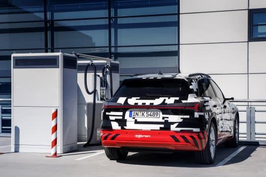 續航力破400km Audi e-tron prototype創電動車新格局