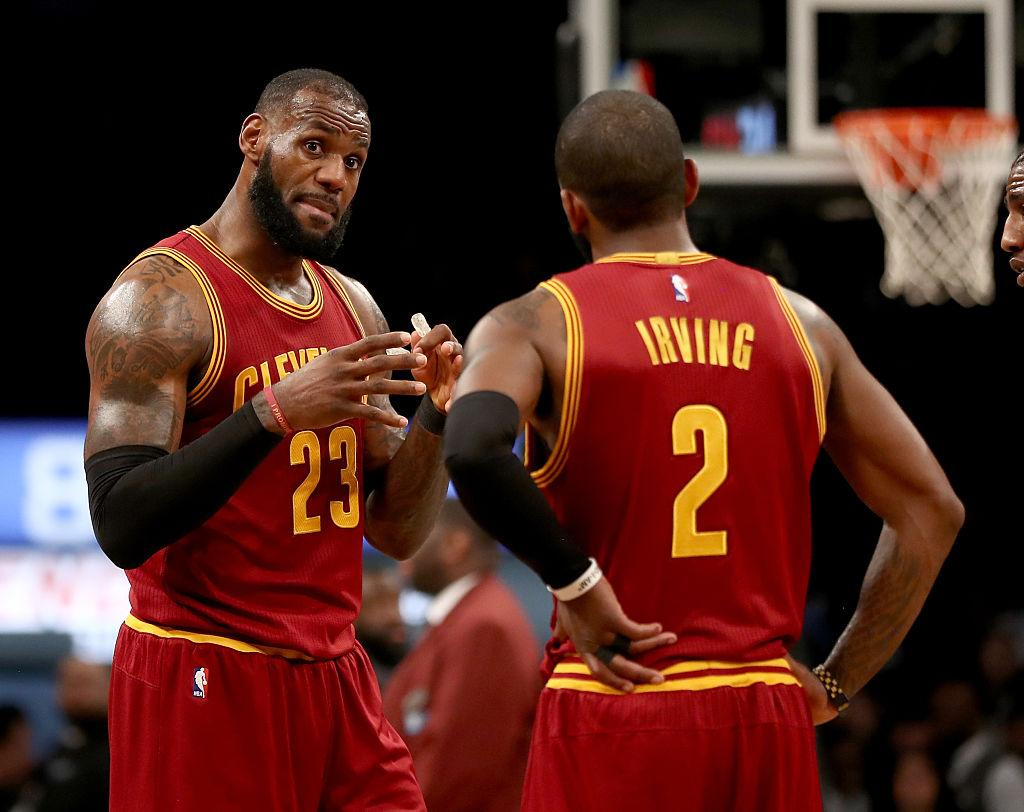 a3e304e1afc4 NBA  LeBron James Misunderstanding Led to Kyrie Irving s Trade Request at  Cavaliers