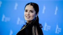 Salma Hayek, 53, praised for 'youthful' make-up free swimsuit photo