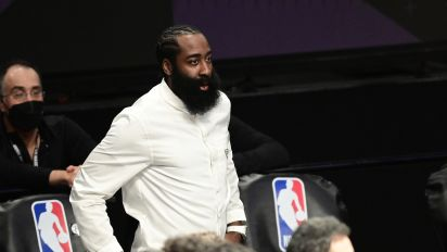 Harden 'progressing,' won't play in Game 4